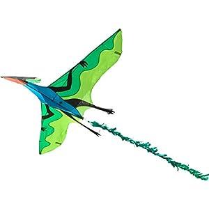 Invento 106516-Flying Dinosaur 3D einleiner, a Partir de 10años, 105x 180cm y 7m Dragón Cola Ripstop de poliéster 2-5Beaufort