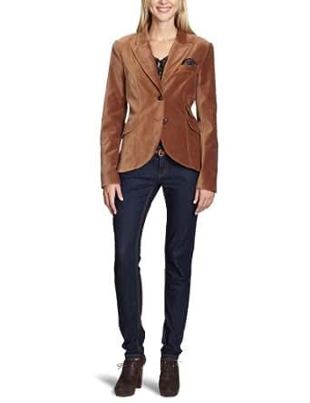 oui damen blazer 32350 gr 36 braun 8176 cognac bekleidung. Black Bedroom Furniture Sets. Home Design Ideas