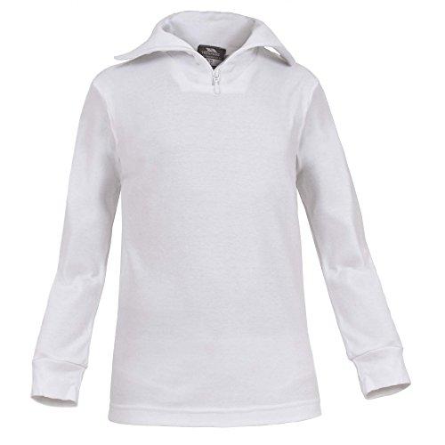 Trespass Kinder Jungen Dolomite Ski-Oberteil/Sweatshirt (3-4 Jahre (98/104)) (Weiß)