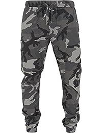 URBAN CLASSICS - Camo Ripstop Jogging Pants (dark camo)