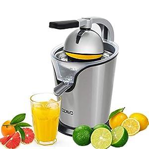 OZAVO Zitruspresse elektrisch, Orange Saftpresse mit Hebelarm, Citrus Juicer...