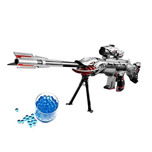 OYJD Pistola de Juguete con Bomba de Agua, Combate Militar Barrett Elite Rifle de Francotirador, Niños al Aire Libre CS Bomba de Agua Juguete Rifle de Francotirador +10000 Bomba de Agua