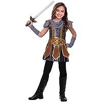amscan Déguisement Enfant Fille Robe Guerriere Medievale Fête Costumée 61b402e8ee15