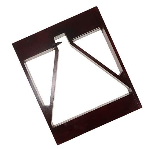 perfeclan Holz Billard Ball Pool Dreieck Rack Für Tisch Billard Snooker Zubehör -