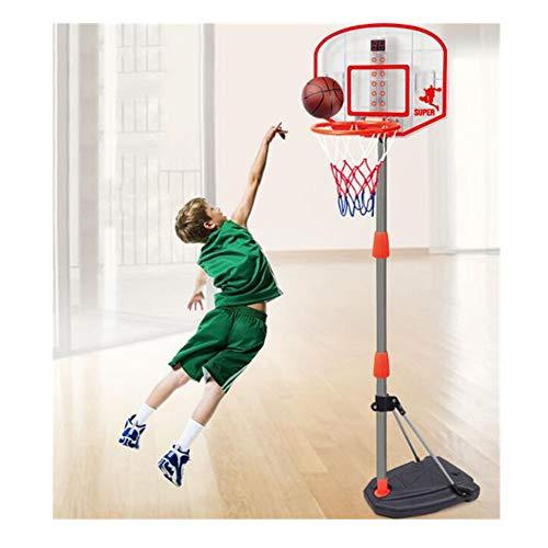 WDXIN Kinder Basketballkorb Tragbarer Basketballständer Innen Und Außen 97-170 cm Höhenverstellbar Geeignet für Kinder und Jugendliche