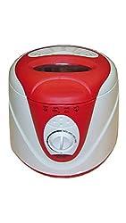 Smileindia Skyline VT7889 1.5 L Electric Deep Fryer (White & Red)