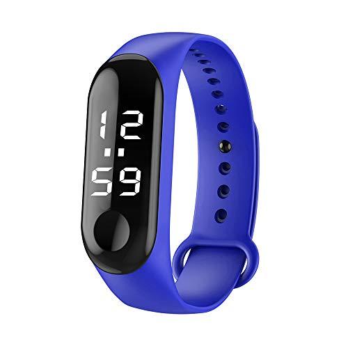 JYJM�Luxusmode-Krokodil-Kunstleder-Mens-analoge Uhr passt Blau auf Armbanduhr für Herren Damen Slim Uhr Ø36mm mit Milanaise-Armband Herren Armbanduhr mit Dial Digital Display