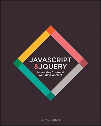 JavaScript & jQuery: Interactive Front-End Web Development Hardcover: Written by Jon Duckett, 2014 Edition, (1st Edition) Publisher: John Wiley & Sons [Hardcover]