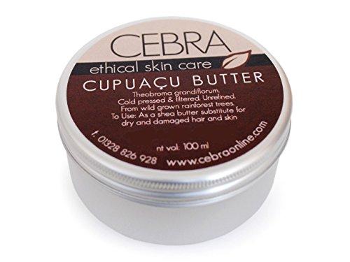 Cebra ethical skincare vegane Cupuacu Butter Hautpflege Haarkur