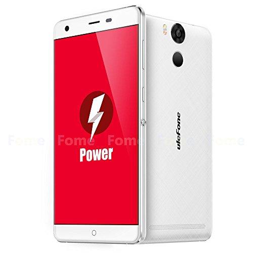 Ulefone Power Touch ID 4G LTE Smartphone 5.5 Zoll Android 5.1 Lollipop MTK6753 Octa Core 3GB RAM 16GB ROM 5MP 13MP Doppelkameras OTG