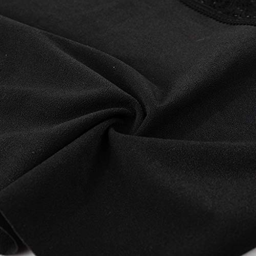 URSING Unterhosen Damen String Sexy Tanga Unterwäsche Atmungsaktive Unterhosen Panties Hipster Lace Patchwork Stringtanga Bikini Lingerie Bikinislip - 5