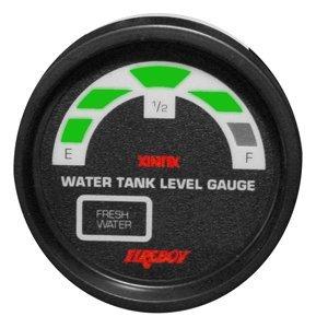 "Fireboy-Xintex Xintex Water Tank Display Round 2"" Gauge f/2 Fresh Water Tanks"