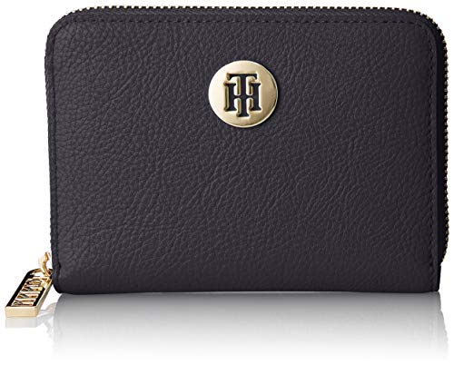 Tommy Hilfiger Damen Th Core Comp Za Wallet Geldbörse, Blau (Corporate) 2.5x10x13 cm