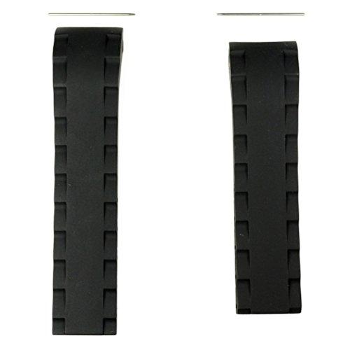 Preisvergleich Produktbild Tissot sea-touch schwarz Gummi Band Riemen Für Rückseite Fall t026420a