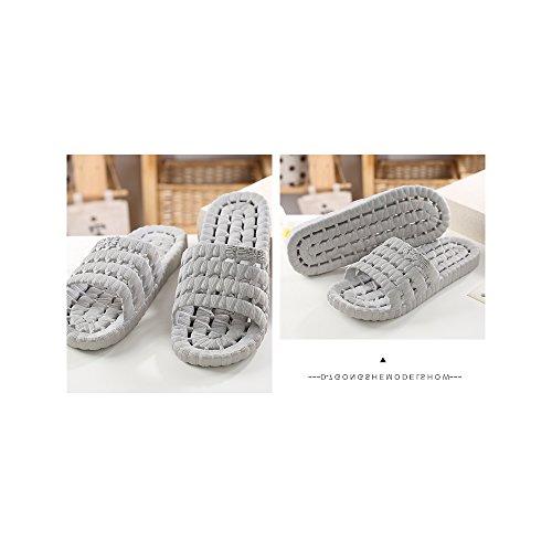 OCHENTA Chaussure de Bain Piscine Antiglisse Baignade Tong Gris