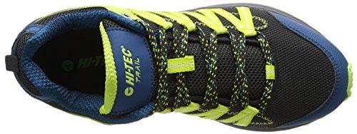 Hi-Tec Sensor Lite, Scarpe da Trail Running Uomo Nero (Black/corsair/limoncello 025)
