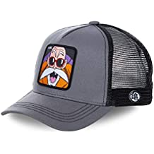 Collabs Dragon Ball Z Kame Trucker Gorra Hombre Gris