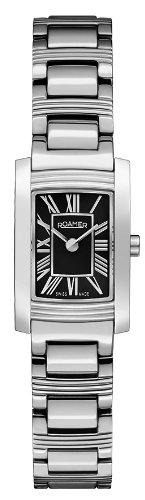 Roamer 766751 41 52 70 - Reloj analógico de cuarzo para mujer, correa de acero inoxidable color plateado