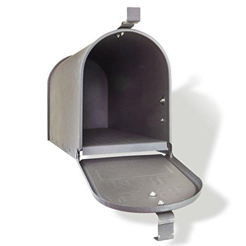 DEMA American Mailbox aus Stahl, Anthrazit - 5
