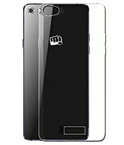 Helix Transparent Back Cover For Micromax Canvas Play 4G Q469