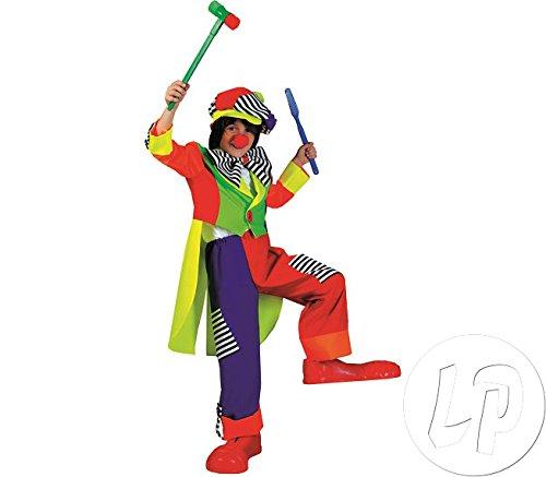 Spanky Stripes Clown Kostüm - Spanky Stripes Clown Ch Md