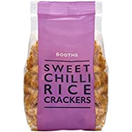 Booths Sweet Chilli Rice Crackers, 100 g