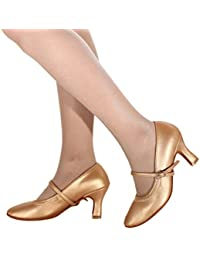 3a3598f32bef Amazon.co.uk  Gold - Dance Shoes   Sports   Outdoor Shoes  Shoes   Bags