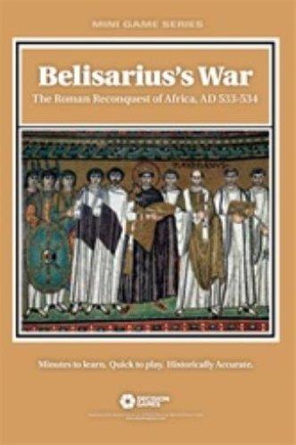 Dg Entscheidung Spiele Folio Spiele Dg: Die Belisarius Krieg, The Römische Rückeroberung Afrikas, 533-534Ad, folio Brettspiel