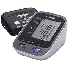 OMRON M6 AC - Tensiómetro de brazo, color blanco y negro [importado de Alemania