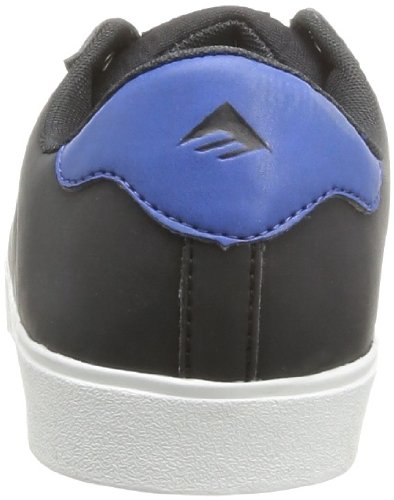 Emerica - Scarpe sportive - Skateboard THE LEO, Uomo Nero (Schwarz (black/black/royal 090))