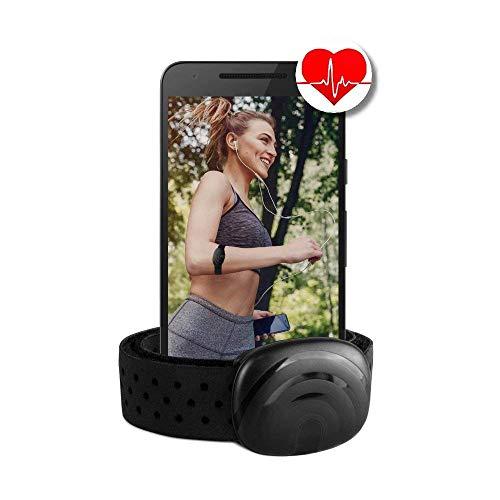 BerryKing Sportbeat Ant+ und Bluetooth für Garmin Wahoo Polar Runtastic Strava Endomondo Sportuhren TomTom Apple iPhone Android Pulsuhr Armband Herzfrequenzmesser HRM Sensor
