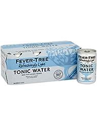 Fever Tree Naturally Light Tonic Water, 8 x 150ml.