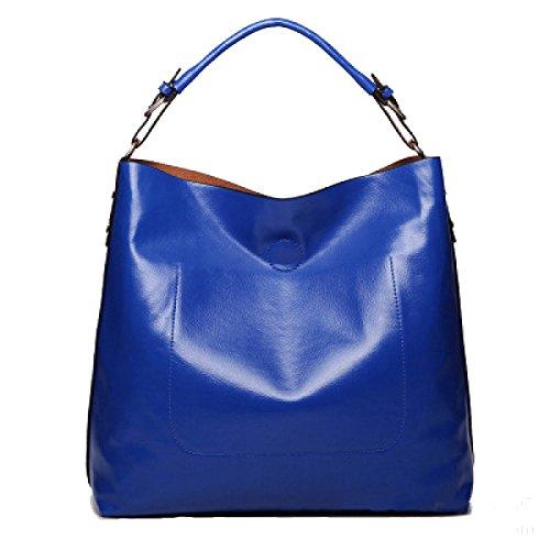 MYLL Borse A Tracolla Di Tote Trendy Women Trendy Borse,WineRed Blue