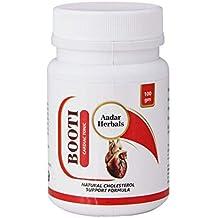 AADAR Herbals BOOTI Ayurvedic Powder for Cholesterol and Cardiac Care 100 GM, with Omega-3