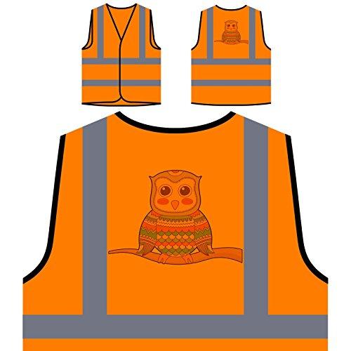farbige-eulen-sammlung-ethnische-lustige-neuheit-personalisierte-high-visibility-orange-sicherheitsj