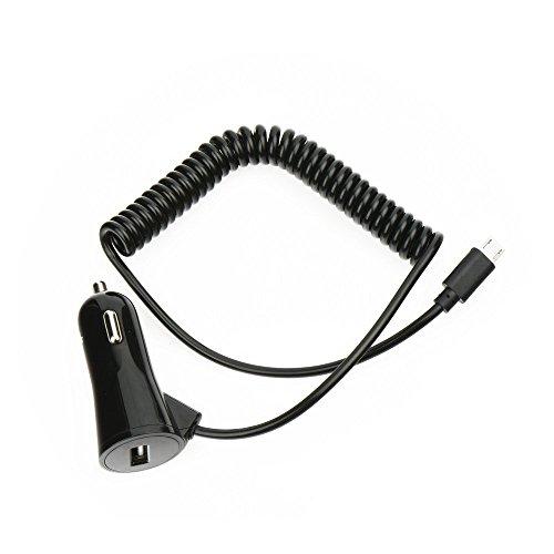 Starberry® KFZ-Ladegerät in Schwarz für Sony Mobile Xperia XA2 PKW LKW Auto Ladekabel Ladegerät Car Charger Aufladekabel Aufladegerät 3A TypC und USB Anschluss + Bildschirm Reinigungspad (Auto-ladegerät Mobile)