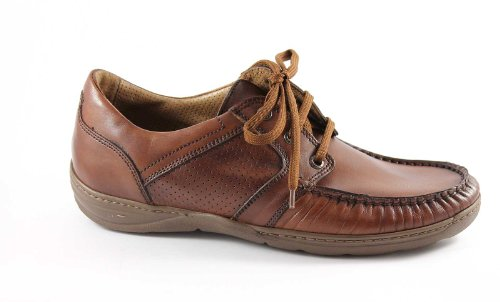 LION 1024 cuoio scarpe uomo antistatiche pelle mocassini lacci 46