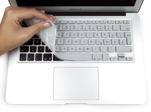 MyGadget Tastaturschutz QWERTZ für Apple MacBook Air 13
