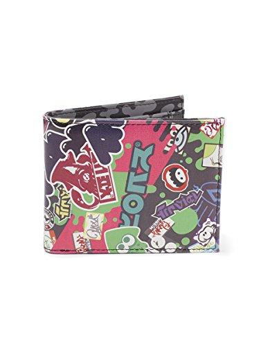 Preisvergleich Produktbild Nintendo Wallet Splatoon 2 Logo's Bifold Black