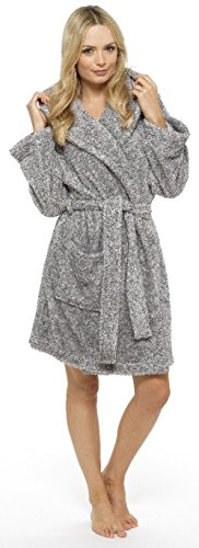 KATE MORGAN - Vestaglia -  donna Charcoal Raccoon