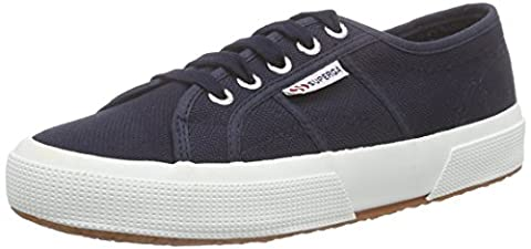 Superga 2750 Cotu Classic, Sneakers Basses mixte adulte - Bleu - Blue (F43), 39.5