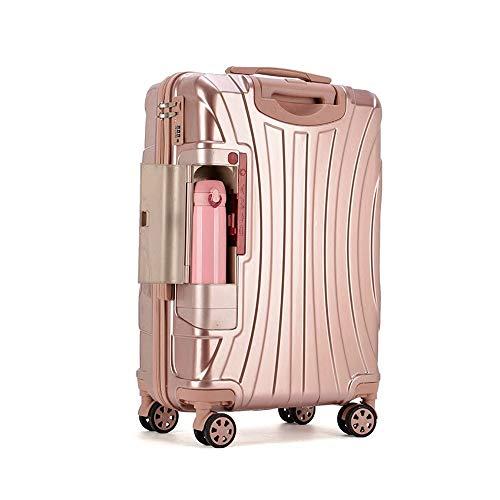 Mit Getränkehalter, Reisegepäcktasche, Trolley Mit Universalfahrwerk, 20
