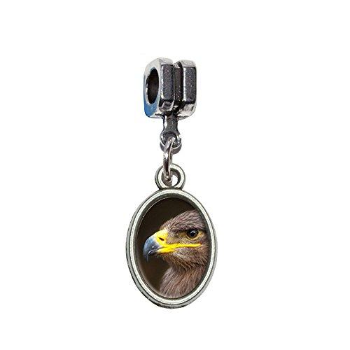 Golden Eagle Italienisches europäischen Euro-Stil Armband Charm Bead–für Pandora, Biagi, Troll,, Chamilla,, andere