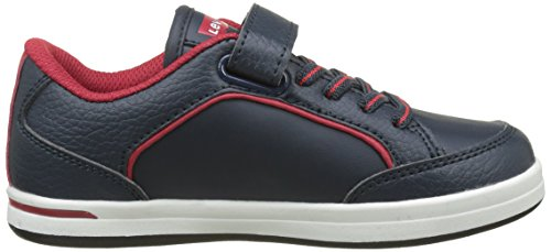 Levi's Chicago Velcro, Baskets Basses Garçon Bleu (Navy)