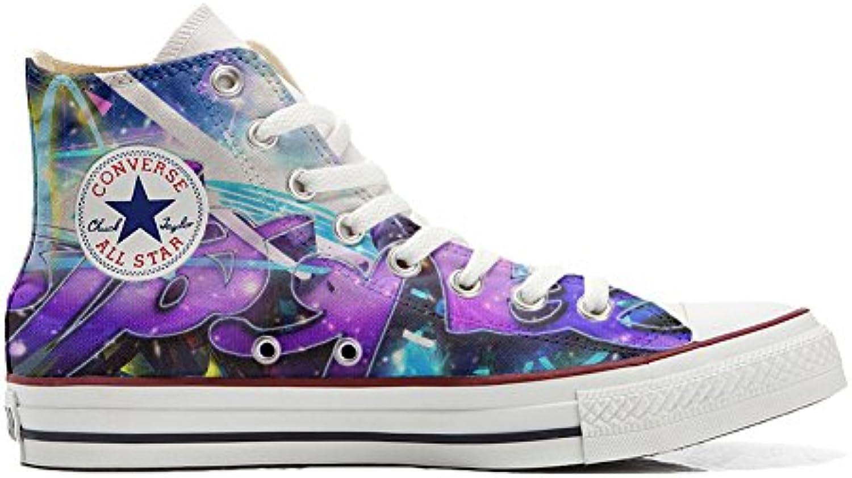Converse All Star Zapatos Personalizados (Producto Handmade) Primavera Girasol -