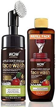 WOW Skin Science Apple Cider Vinegar Foaming Face Wash Save Earth Combo Pack- Consist Of Foaming Face Wash Wit