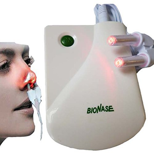 SHIHAN Gesundheitspflege BioNase Schnupfen Sinusitis Nase Therapiemassage Gerät Maniküre Heuschnupfen Niederfrequenz B Laser Therapentic Masseur -