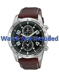 Correa de reloj de Seiko 7t62 0hx0/SNAC11P1 (no incluidos en el precio del reloj. Correa de reloj original solamente)