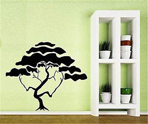 Pine Tree Branch (Decor stickers Walls Art Words Sayings Removable Lettering Tree Branch Crown Foliage Cedar Pine Magn)