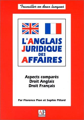L'anglais juridique des affaires